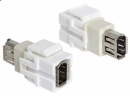 Adapter FireWire 6pin gn- 6pin gn Keystone