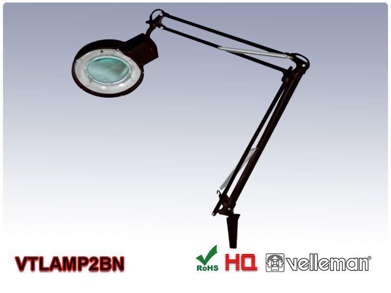 Lampa Warsztatowa Z Lupą Vtlamp2bn