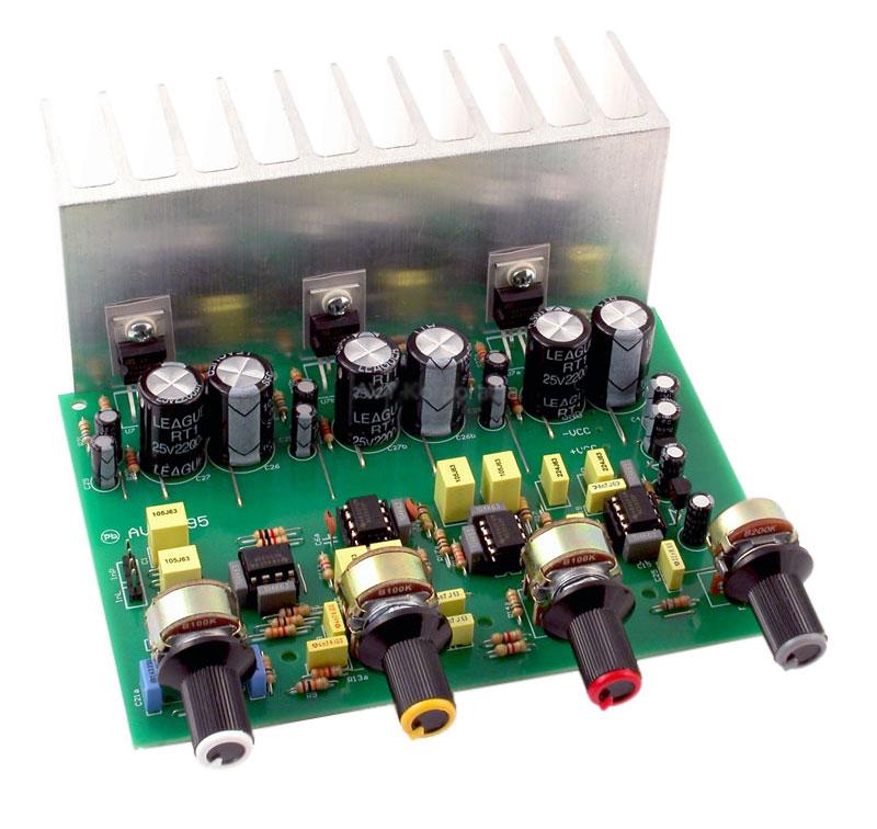 Wzmacniacz mocy 2x5W z TDA7496, AVT1491